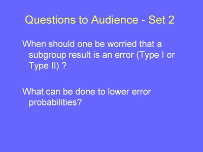 Weiss15. Questions to Audience-Set 2