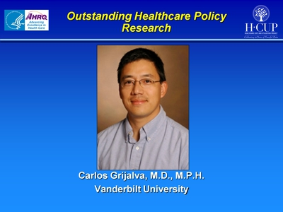 Outstanding Healthcare Policy Research
