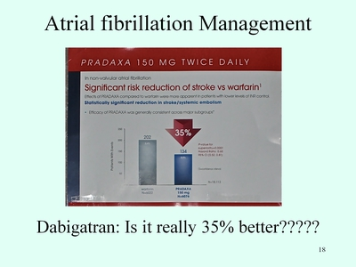 Slide 18. Atrial Fibrillation Management