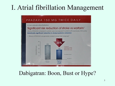 Slide 3. Atrial Fibrillation Management
