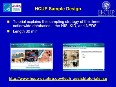 HCUP Sample Design