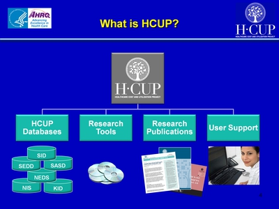 What is HCUP?