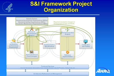 S and I Framework Project Organization