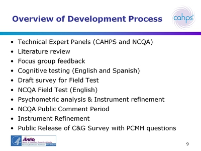 Overview of Development Process