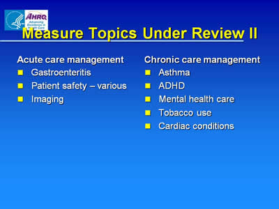 chipra pediatric quality measures program ahrq archive