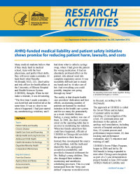 Research Activities Cover Image