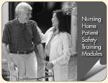 Image of the TeamSTEPPS Nursing Home Patient Safety Training Module cover.