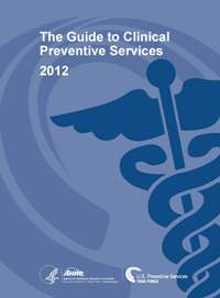 Image of the cover page of the Guide to Clinical Preventive Services, 2012