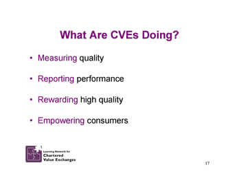 Slide 17: What Are CVEs Doing?