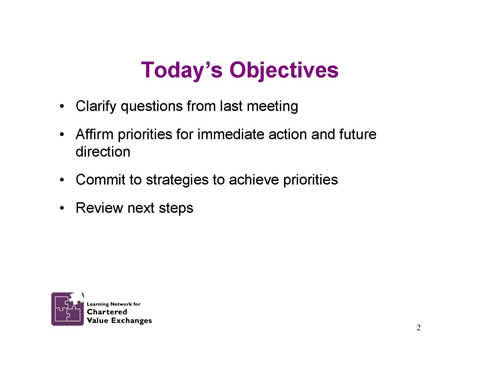 Slide 2: Today's Objectives