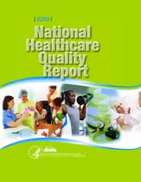 Cover of National Healthcare Quality Report, 2009